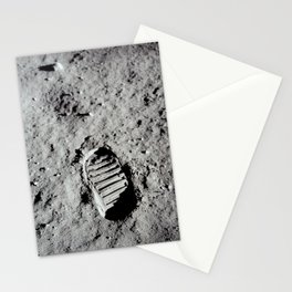 Apollo 11 - First Footprint On The Moon Stationery Cards