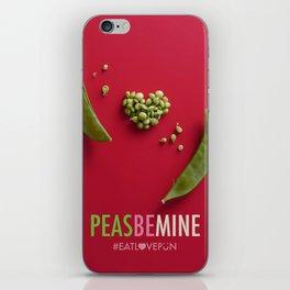 Peas Be Mine iPhone Skin