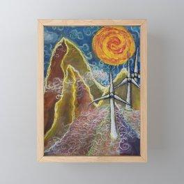 Windy Day in Tucker County Framed Mini Art Print