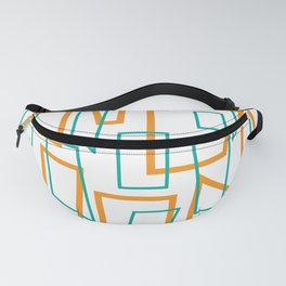 Rectangles Fanny Pack