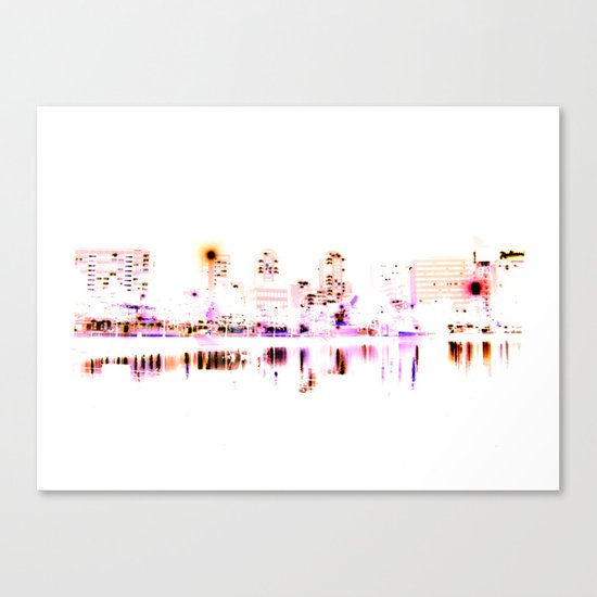 white harbor VI. Canvas Print