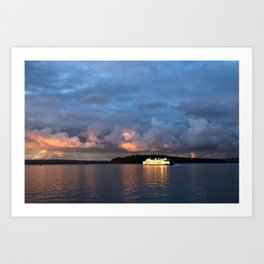 Believe in Ferries! Art Print
