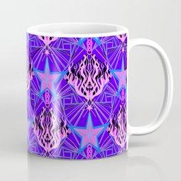 Starfire Kaleidoscope (Cotton Candy Star) Coffee Mug