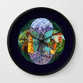 Ekalavya - The Masterless Student Wall Clock