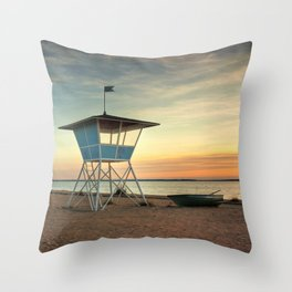 Finnish Baywatch Throw Pillow