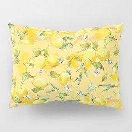 Watercolor lemons 5 Pillow Sham