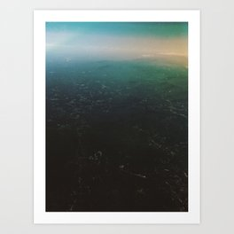 Abstract Sky Art Print