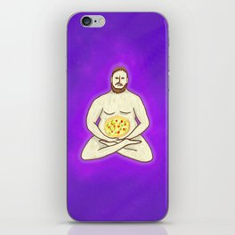 Yoga Pizza iPhone Skin