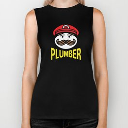 Plumber Potato Chips Biker Tank
