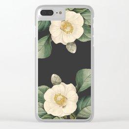 Camelia boh Clear iPhone Case