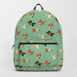 Goldfish Pattern Backpack