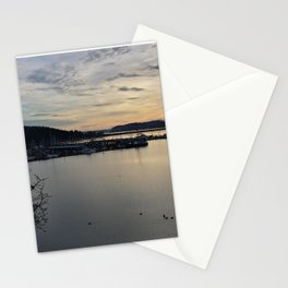 The Harbor in Oak Harbor Stationery Cards