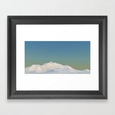 new metaballz terrain Framed Art Print