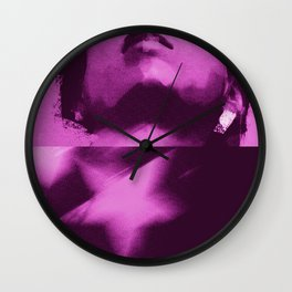 commie in pink Wall Clock