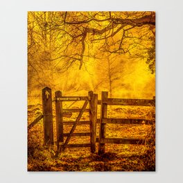 Gateway to Nowhere Canvas Print