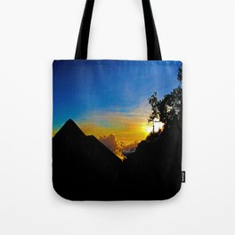 Sunset To Dream Of Tote Bag