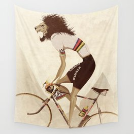 Vintage World Champion Bicycle, Bike, Bikes, Cycling Tour De France Wall Tapestry