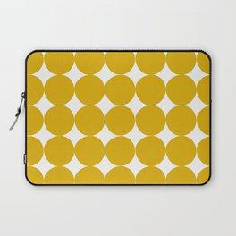 Handdrawn Circle Pattern Laptop Sleeve