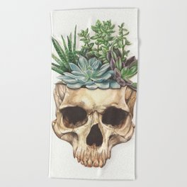 From Death Grows Life Beach Towel