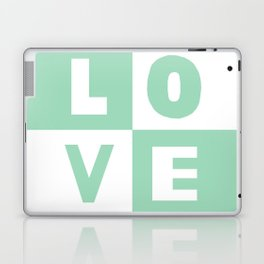 Love Mint Laptop & iPad Skin