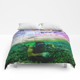Nightswimming Comforters