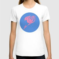 fairy tail T-shirts featuring Fairy Tail Segmented Logo (Lucy) circle by JoshBeck