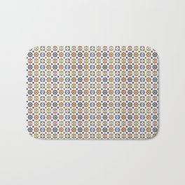 Seamless Pattern Oriental Style 1 Bath Mat