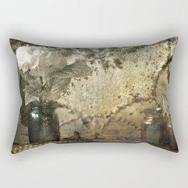Vintage Mercury Jars Rectangular Pillow