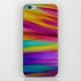 ETHEREAL SKY - Large Abstract Sky Oil Painting iPhone Skin