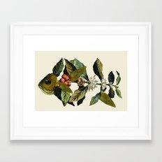Botanical Fish Framed Art Print