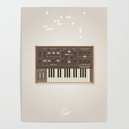 The Synth Project - Moog Prodigy - Updated Poster
