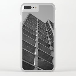 imposing structure Clear iPhone Case