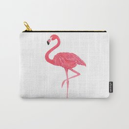 Flamingo fuchsia flap Carry-All Pouch