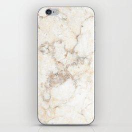 Marble Natural Stone Grey Veining Quartz iPhone Skin