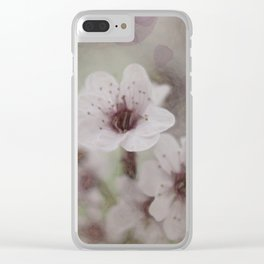 Soft touch Clear iPhone Case