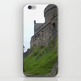 Lonely Lamppost at Edinburgh Castle iPhone Skin