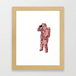 Space, Baby. Framed Art Print