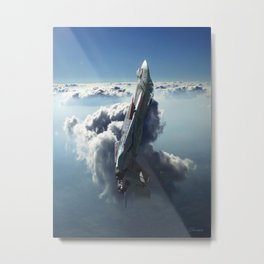 Sea of Light Metal Print