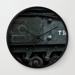 Sidehatch and Bogie Wheels Wall Clock