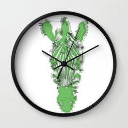 Zebra: The Earth Wall Clock