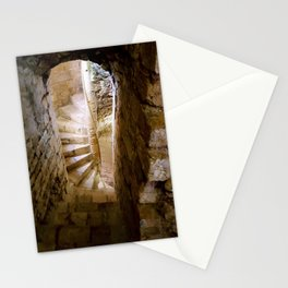 Medieval Staircase Stationery Cards