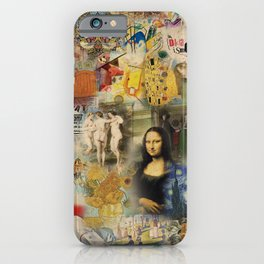 History of Art iPhone Case