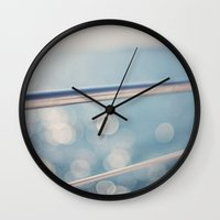 sailing Wall Clocks featuring sailing by shannonblue