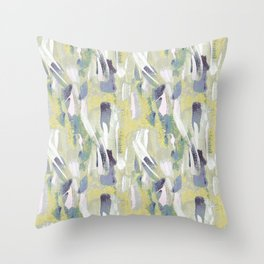 Playing with Paint Throw Pillow