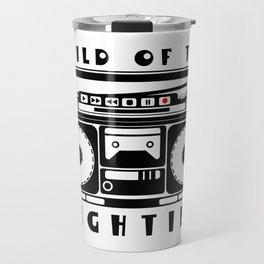 Eighties Music Travel Mug