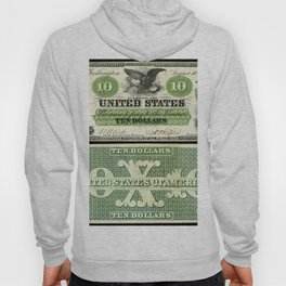 US Ten Dollar Demand Note (1861) Hoody