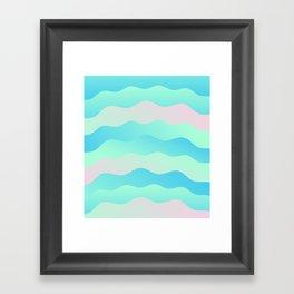 Chill Wave Framed Art Print
