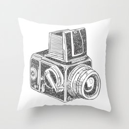 old machine II Throw Pillow