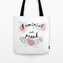 Feminist & Proud Tote Bag