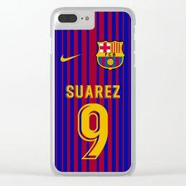 Suarez Edition - Barcelona Home 2017/18 Clear iPhone Case